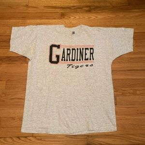Vintage Gardiner Maine Tigers Short Sleeve T-Shirt